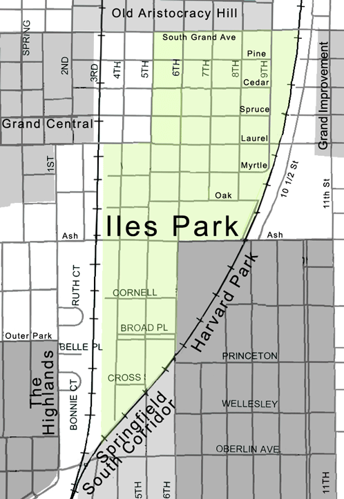 Iles-Park-Neighborhood-Association-map