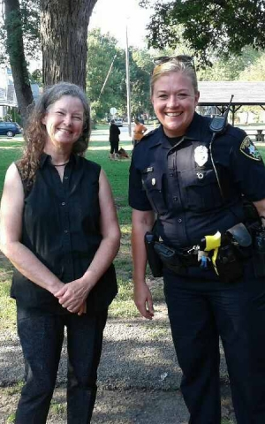 Harvard Park & Iles Park National Night Out 2017 - Neighborhood Police Officer Tammi Russell