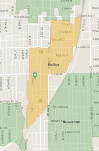 Contact Iles Park Neighborhood Association - Nextdoor map image