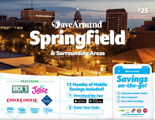 The Iles Park Neighborhood Association is selling SaveAround coupon books as a fundraiser. The books have over $5,000 in savings and are valid through December 2020.